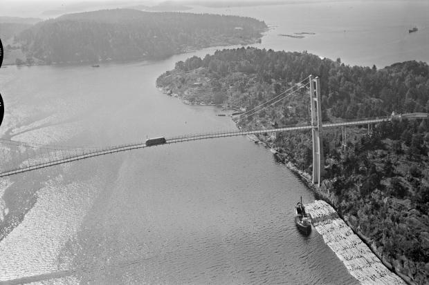 bro vrengen Nøtterøy Vestfolf widerøe flyfoto skråfoto